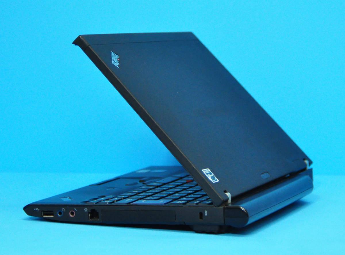 ♪ 良品 上位モデル ThinkPad X201 ♪ ターボ 高速Core i7-620M 新品SSD240GB メモリ6GB カメラ バッテリー大 Wlan Office2019 Win10_画像5