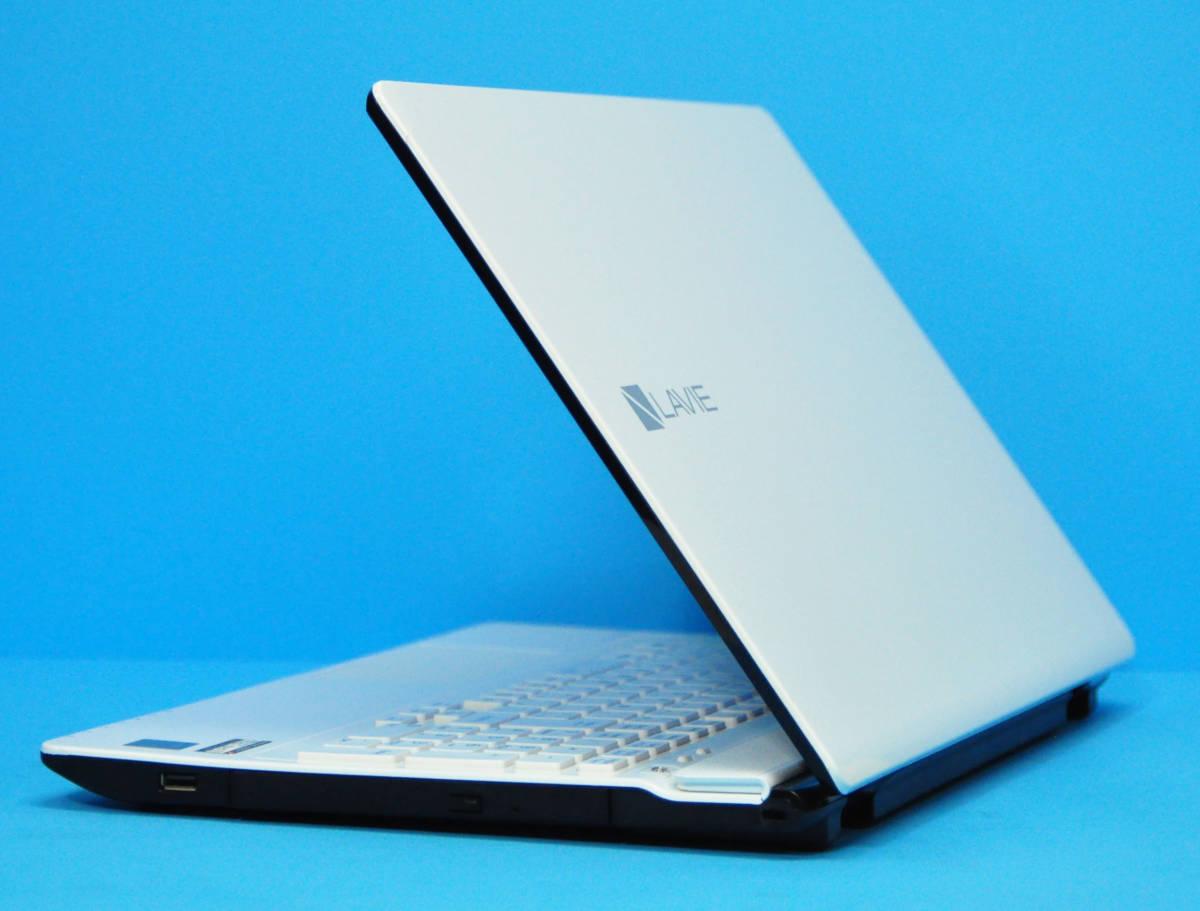 ♪良品 上位モデル LAVIE Direct NS PC-GN202FSA4♪ 第5世代 Core i3 5005U/メモリ8GB/新SSD:240GB/マルチ/カメラ/Wlan/Office2019/Win10_画像5