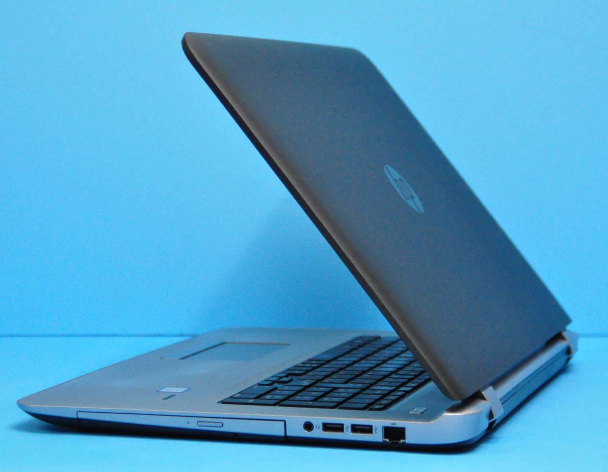 ♪良品 上位モデル ProBook 470G3♪ RadeonR7 M340搭載 大画面17.3 Corei3 6100U/メモリ8GB/SSD:256GB+HDD 500GB/カメラ/Office2019/Win10_画像6