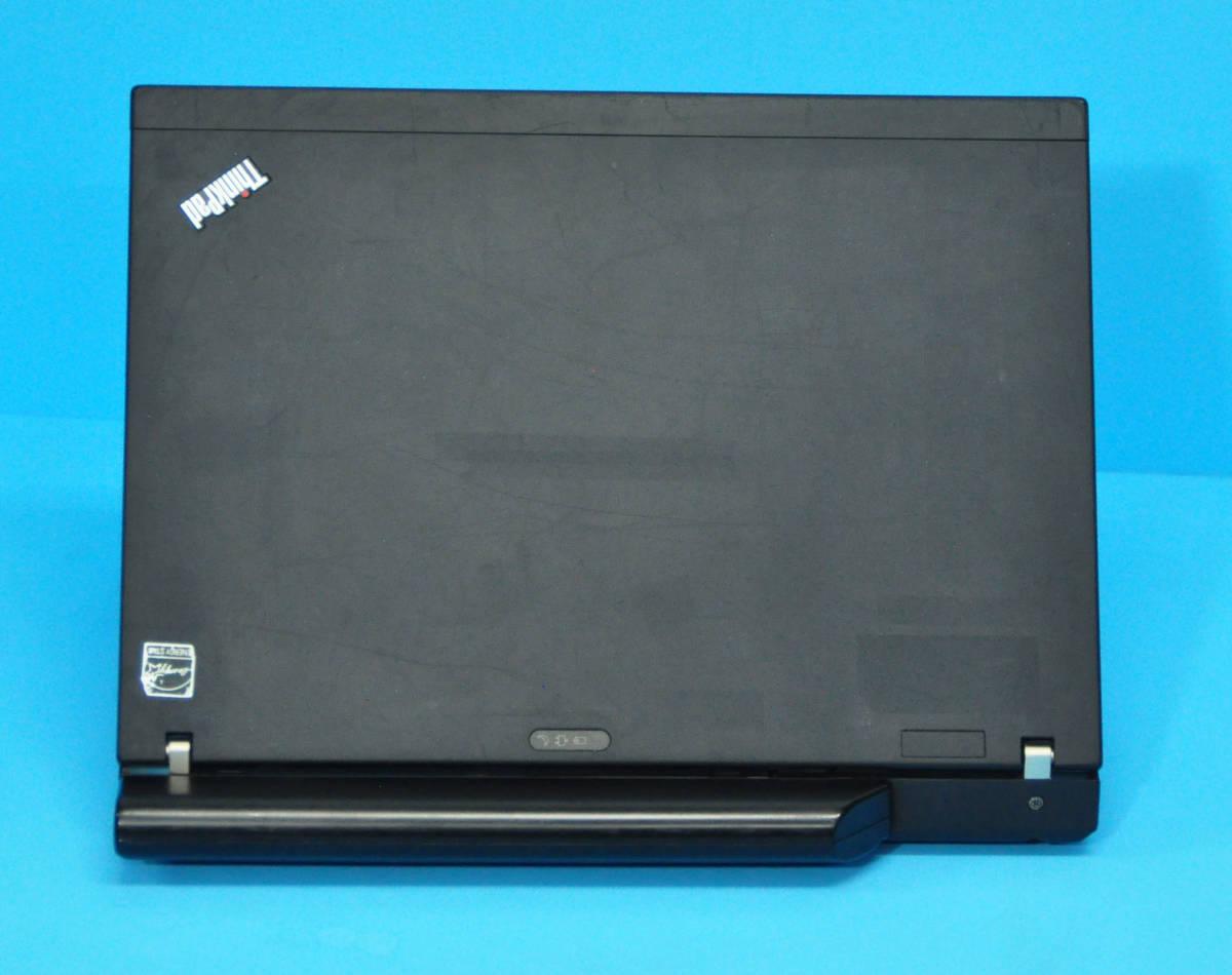 ♪ 良品 上位モデル ThinkPad X201 ♪ ターボ 高速Core i7-620M 新品SSD240GB メモリ6GB カメラ バッテリー大 Wlan Office2019 Win10_画像3