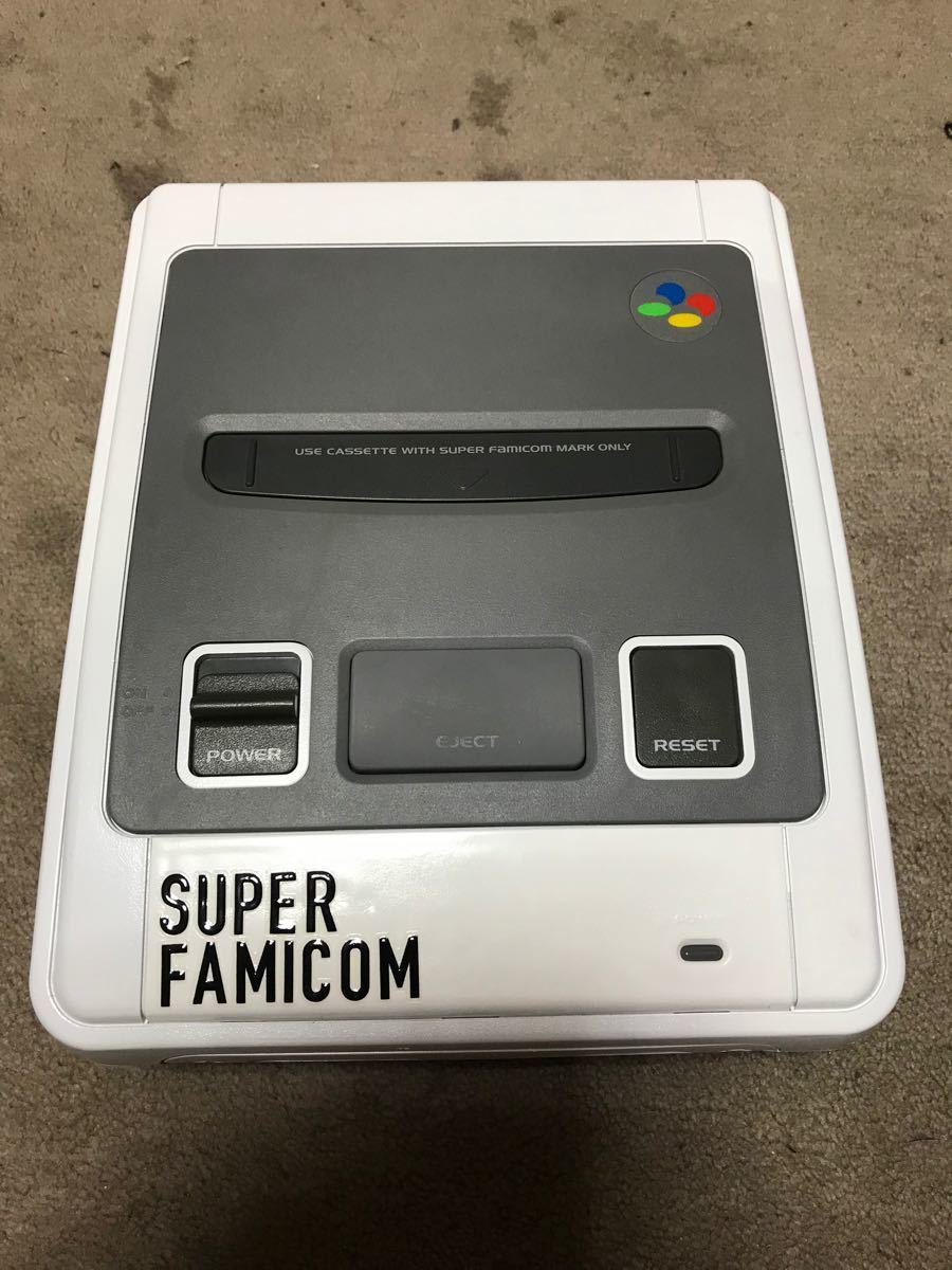 スーパーファミコン本体セット 塗装品 ソフト付き