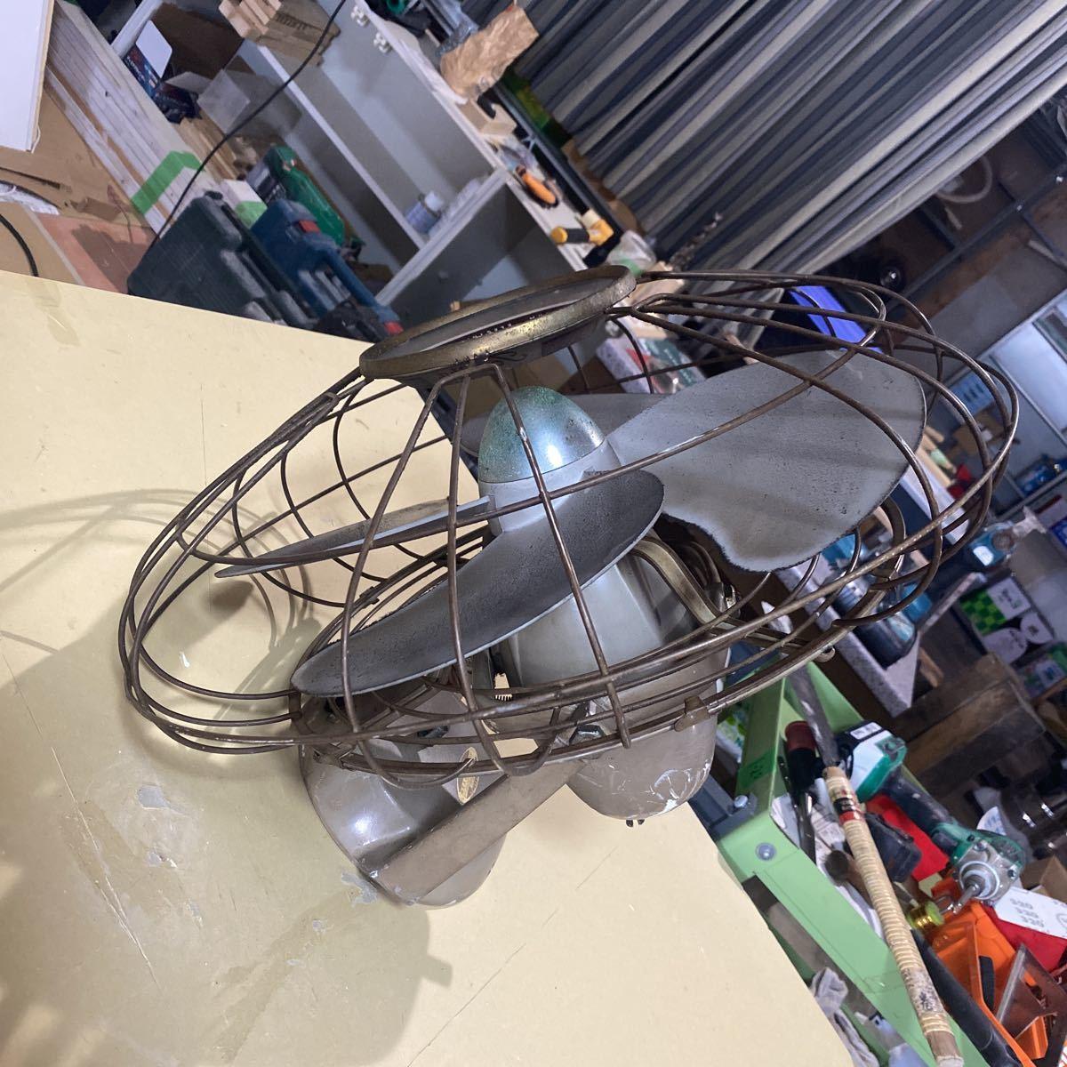 昭和レトロ 国鉄扇風機 TOSHIBA アンティーク _画像2
