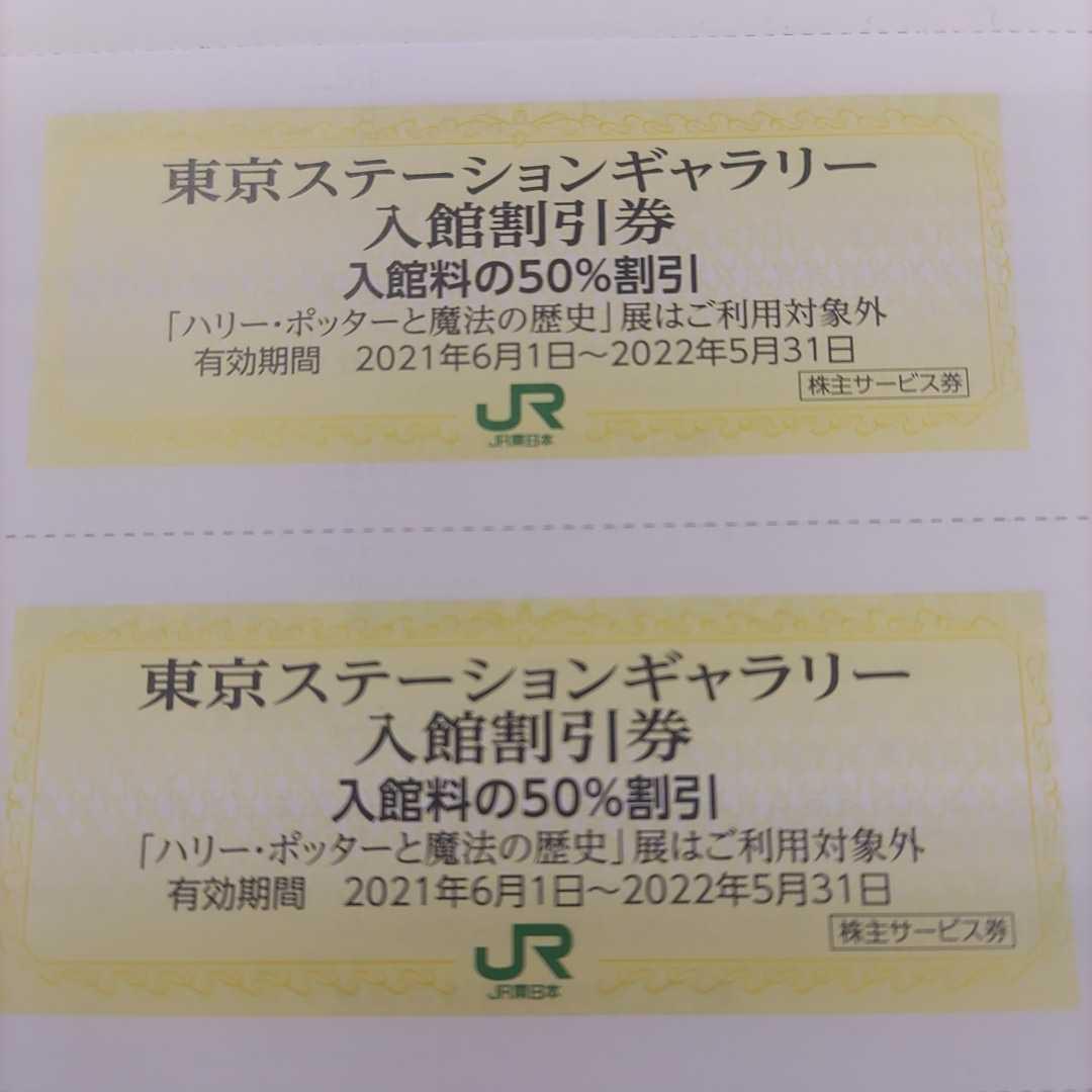 JR東日本優待券の東京ステーションギャラリー半額割引券8枚77円(ミニレター送料込み140円)即決価格(更に値下げしました!)_画像2