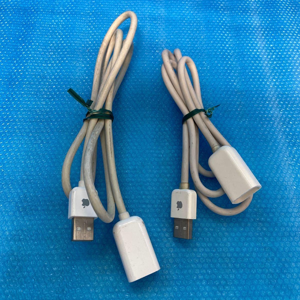 USBケーブル Apple USB アップル 延長ケーブル 2本