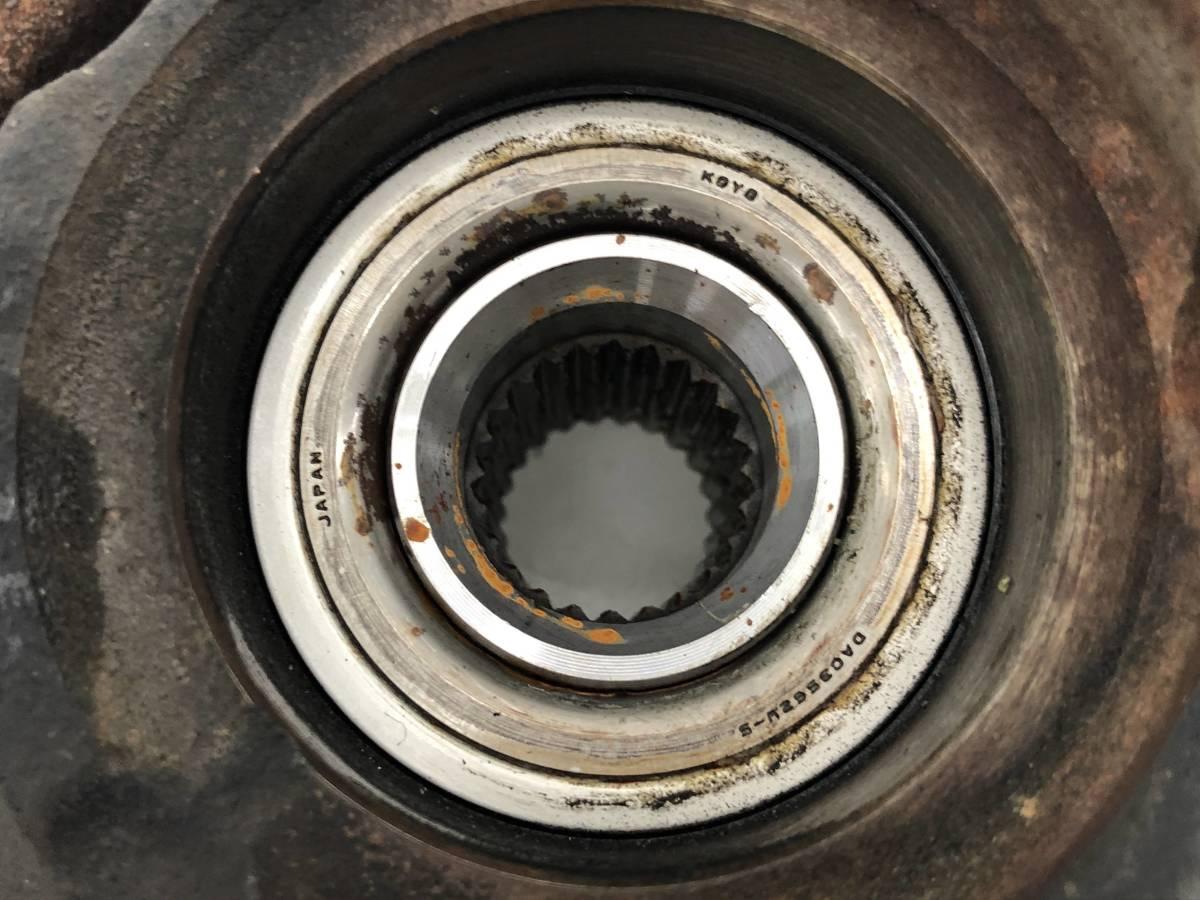 _b63629 マツダ AZワゴン カスタムスタイルXS DBA-MJ23S ナックルハブ ブレーキローター フロント 右 F/RH ABS スティングレー MH23S_画像5
