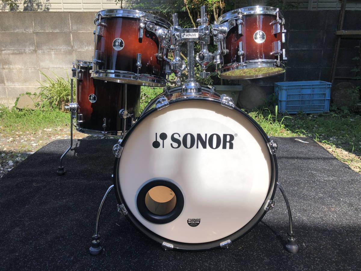 【最低落札なし】SONOR FORCE 3007 ドラムセット ソナー【直接引き取り歓迎】_画像1