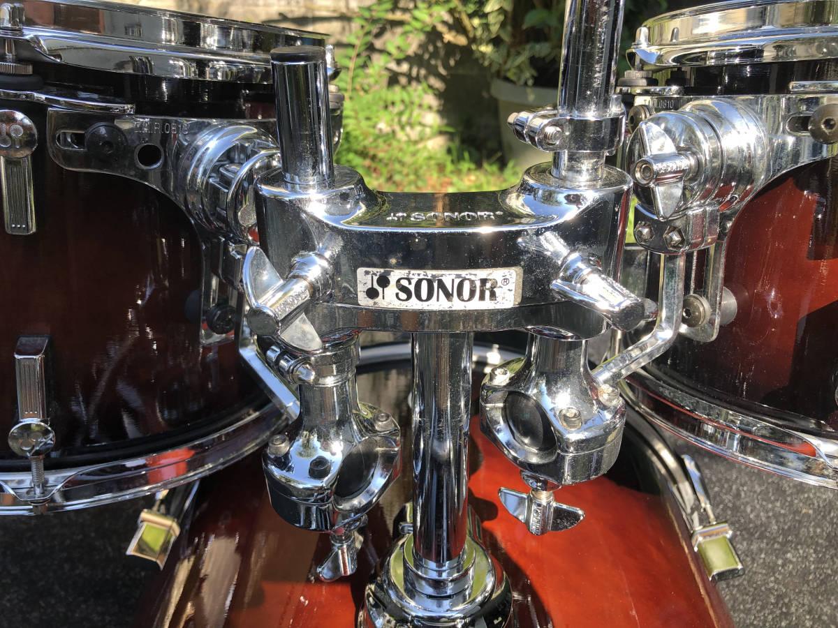 【最低落札なし】SONOR FORCE 3007 ドラムセット ソナー【直接引き取り歓迎】_画像4
