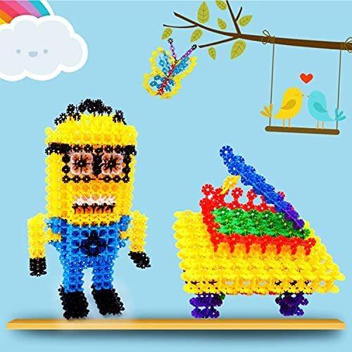 UQTOO ブロック おもちゃ 子供 DIY 知育玩具 セット 室内遊び 男の子 女の子 誕生日のプレゼント はめ込み 組み立て 積み木 立体パズル_画像7