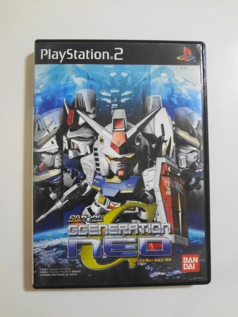 送料無料 即決 ソニー sony プレイステーション2 PS2 プレステ2 SDガンダム ジージェネレーションネオ バンダイ レトロ ゲーム ソフト Y352