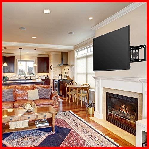 Pipishell テレビ壁掛け金具 大型 37-70インチ対応 アーム式 耐荷重60kg LCD LED 液晶テレビ用 前後&左右&上下多角度調節可能_画像7