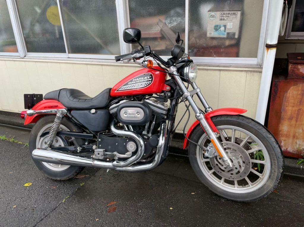 ★低走行!! 735Km★ 2002 883R スポーツスター スポスタ ハーレー Harley Davidson SPORT