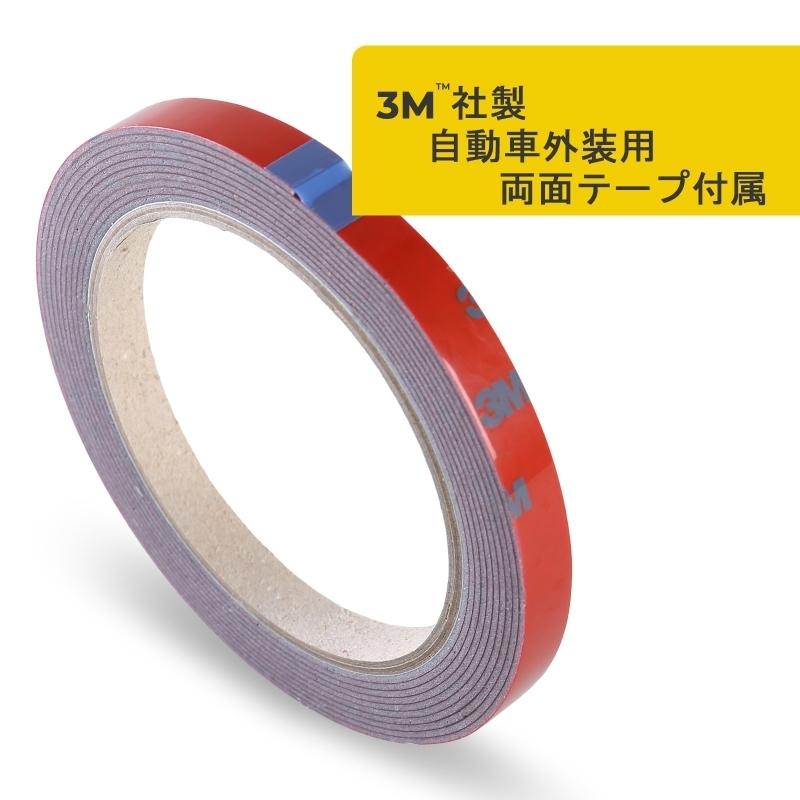 純正色塗装 ABS製 トランクスポイラー メルセデスベンツ CLKクラス W209用 クーペ Aタイプ 両面テープ取付 カラーコード:775_画像5