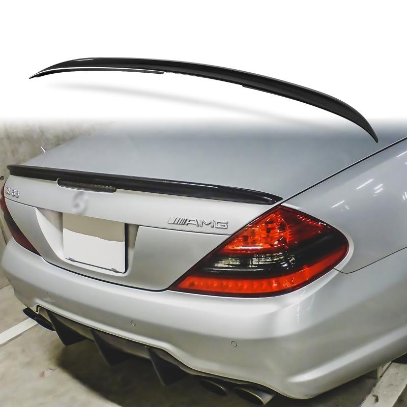純正色塗装 ABS製 トランクスポイラー メルセデスベンツ SLクラス R230用 Aタイプ リアスポイラー 両面テープ取付 カラーコード:040_画像1