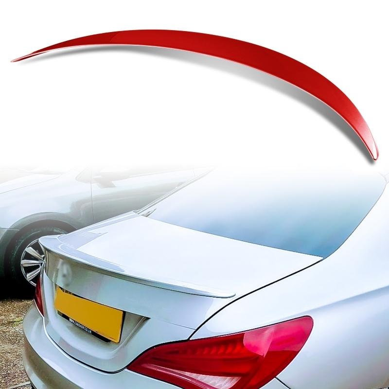 純正色塗装 ABS製 トランクスポイラー メルセデスベンツ CLAクラス C117 W117 4ドアクーペ Aタイプ カラーコード:589_画像1
