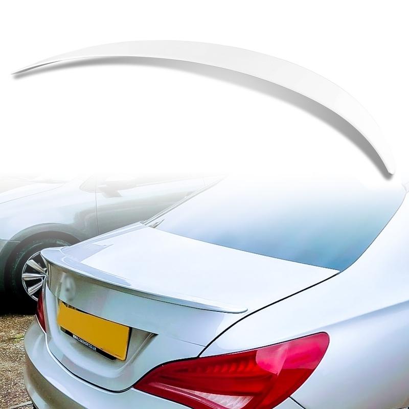純正色塗装 ABS製 トランクスポイラー メルセデスベンツ CLAクラス C117 W117 4ドアクーペ Aタイプ カラーコード:650_画像1
