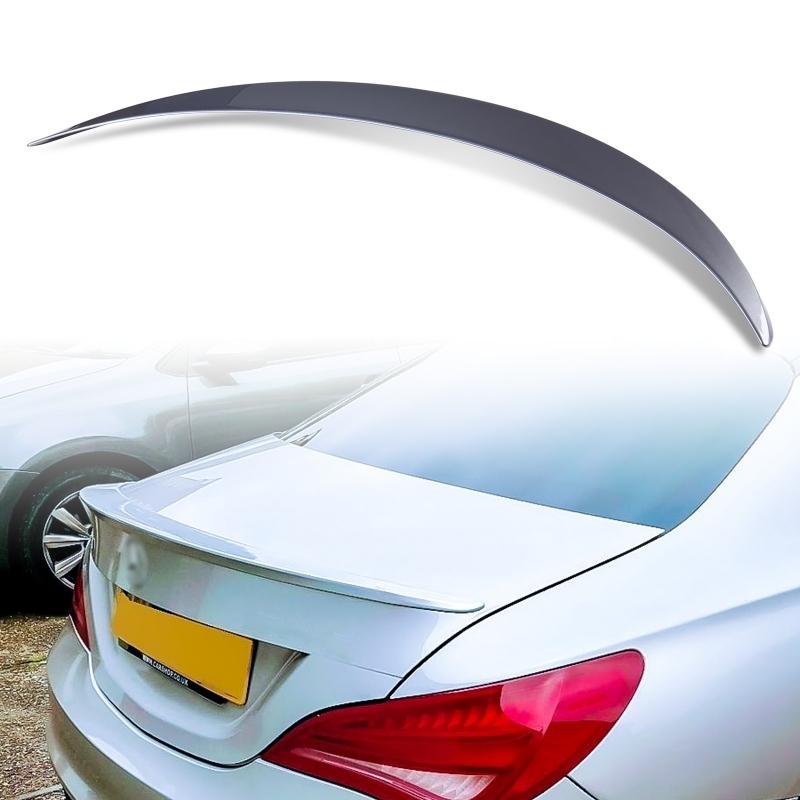 純正色塗装 ABS製 トランクスポイラー メルセデスベンツ CLAクラス C117 W117 4ドアクーペ Aタイプ カラーコード:787_画像1