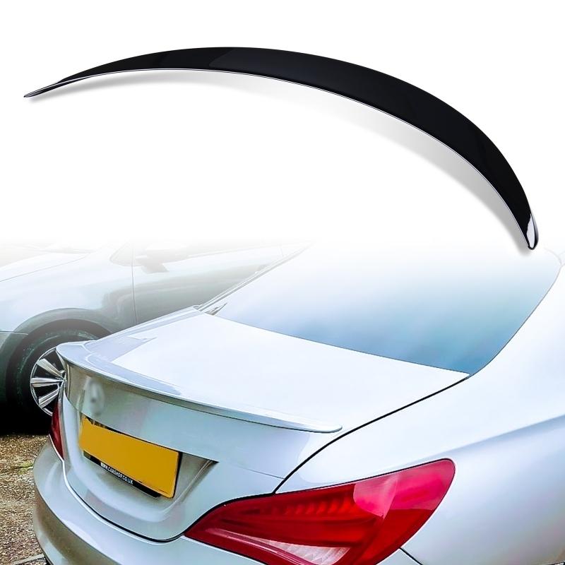 純正色塗装 ABS製 トランクスポイラー メルセデスベンツ CLAクラス C117 W117 4ドアクーペ Aタイプ カラーコード:696_画像1
