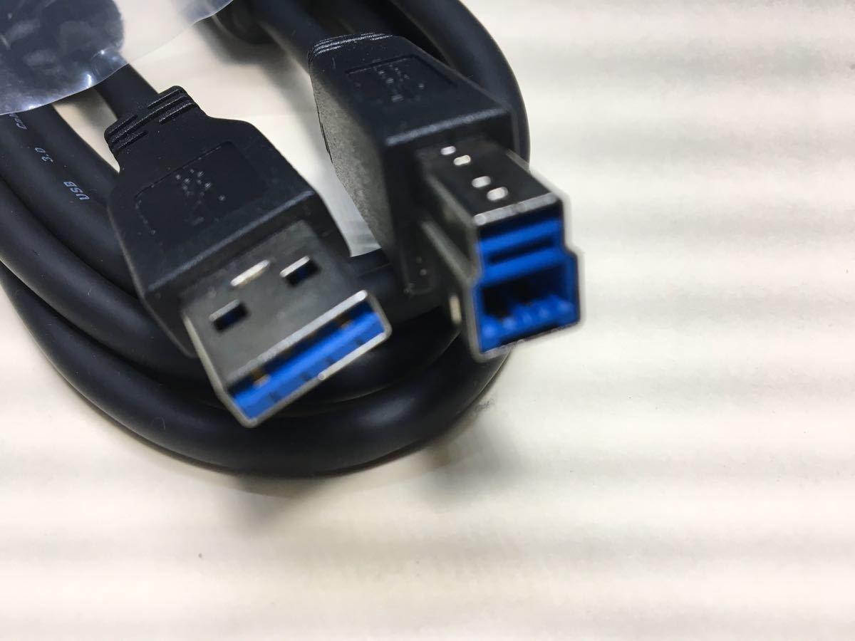 USB3.0対応 USBケーブル 2m USB3.0(A)オス-(B)オス 新品