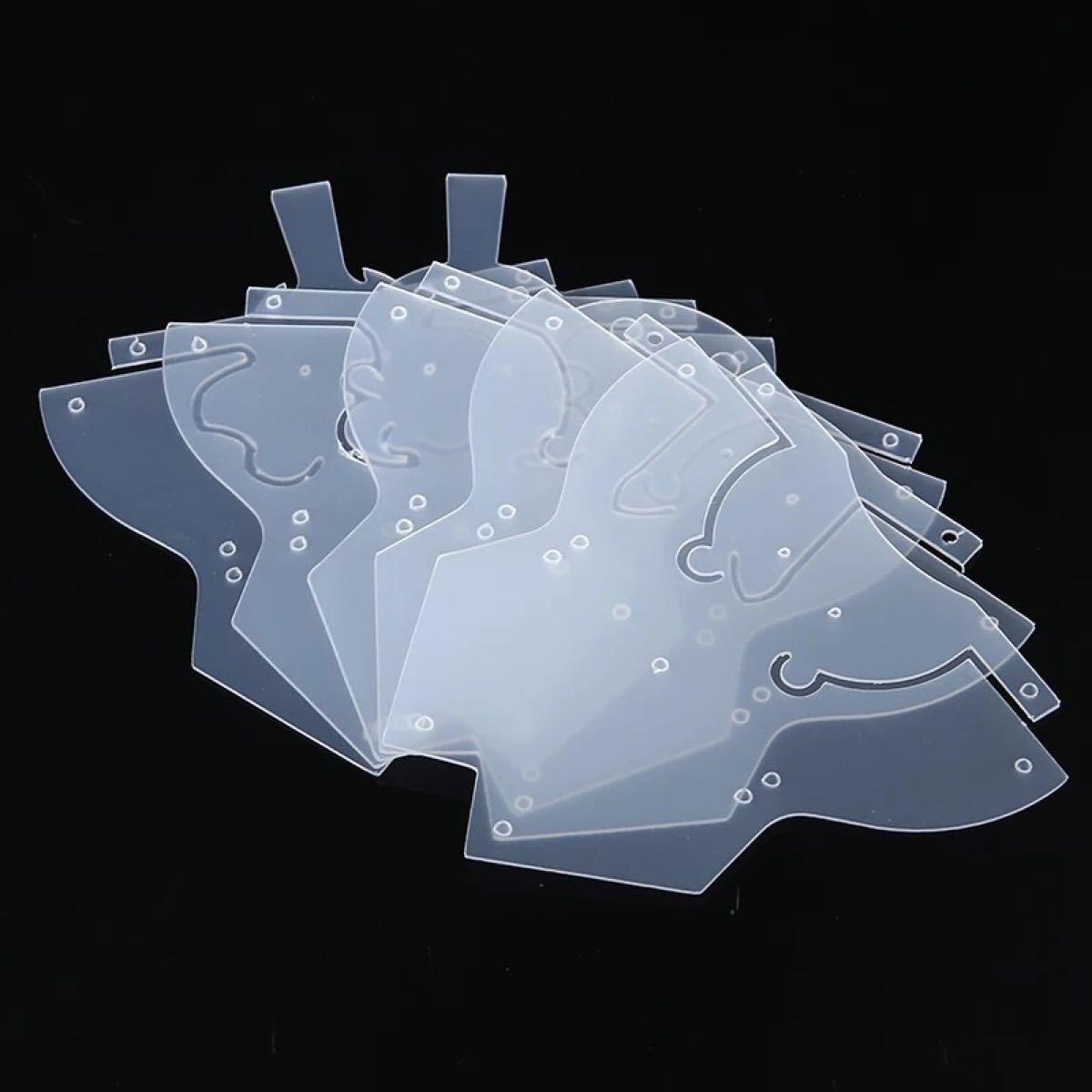 レザークラフト  型紙 動物