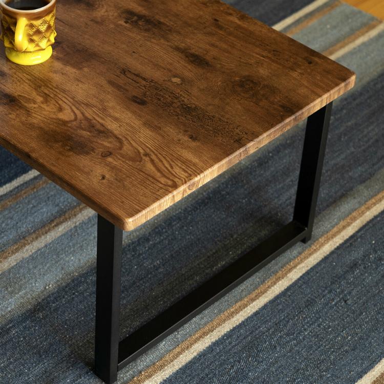 テーブル 木製 長方形 北欧 センターテーブル アウトレット価格 新品 ローテーブル おしゃれ オーク色_画像6