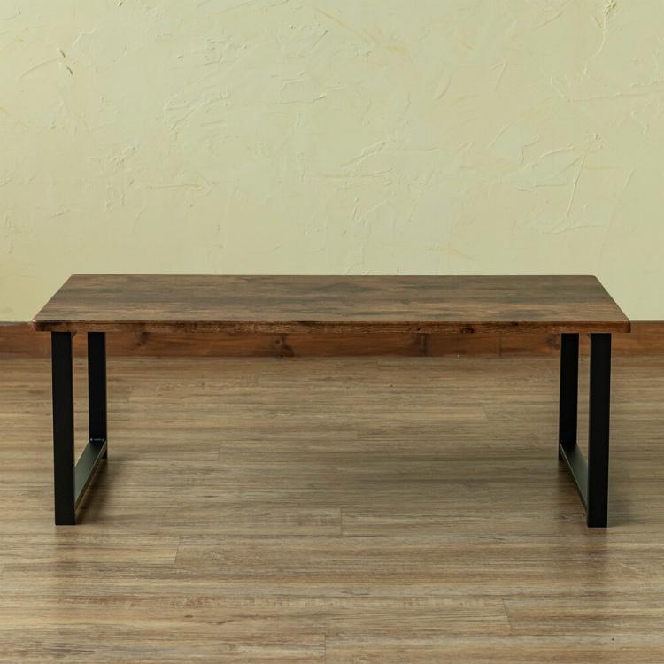 テーブル 木製 長方形 北欧 センターテーブル アウトレット価格 新品 ローテーブル おしゃれ オーク色_画像5