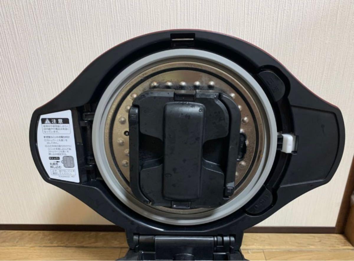 SHARP ヘルシオ ホットクック 電気無水鍋 自動調理鍋 KN-HW24C-r
