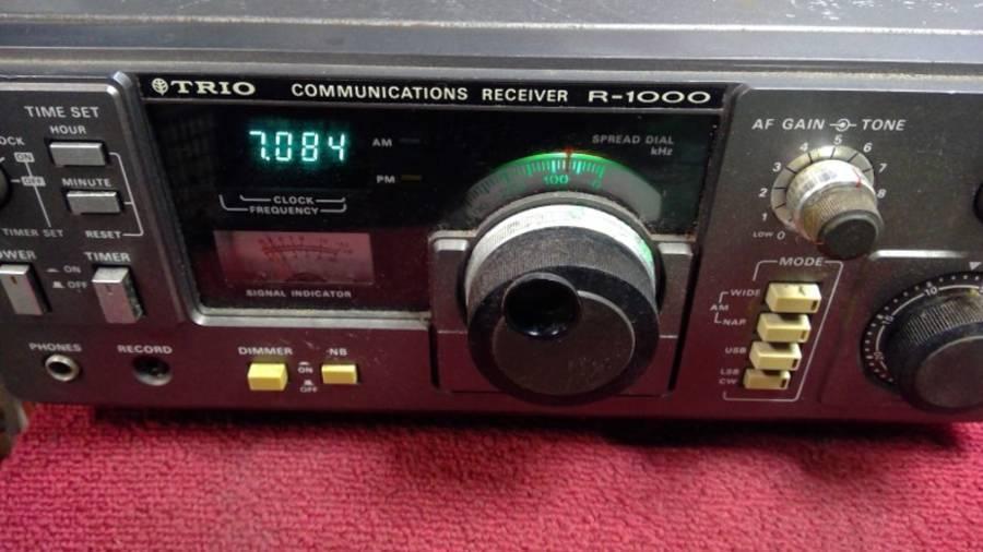 TRIO R-1000 通信型受信機◇現状品_画像6
