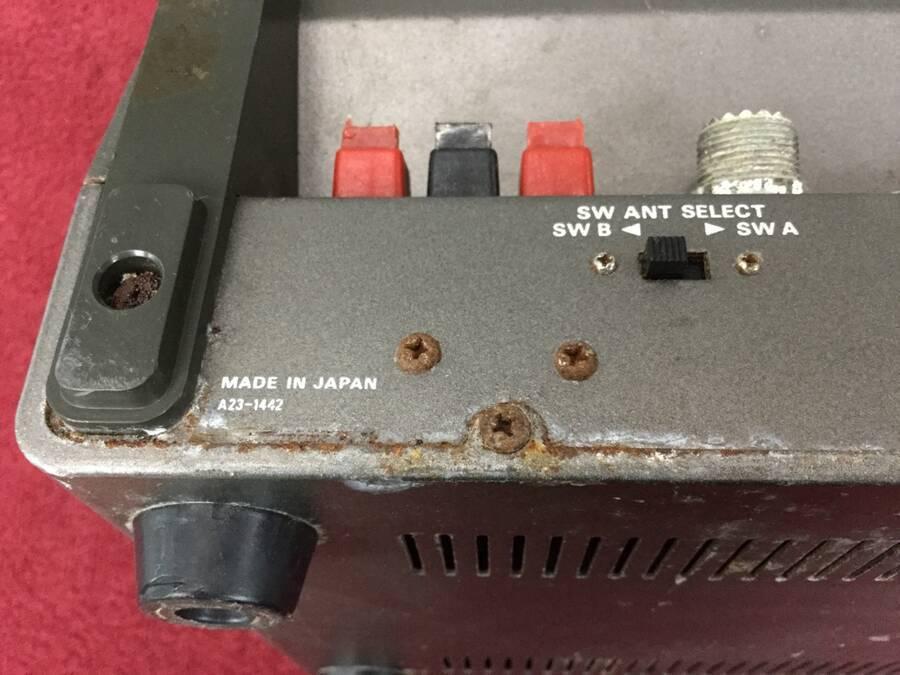 TRIO R-1000 通信型受信機◇現状品_画像5