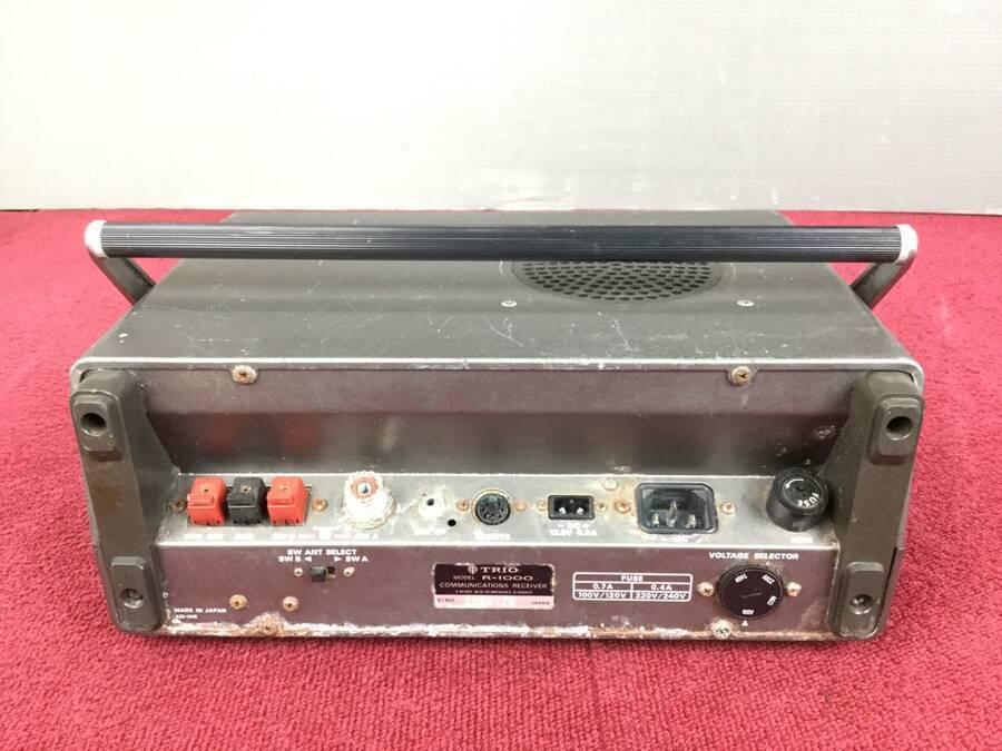 TRIO R-1000 通信型受信機◇現状品_画像2