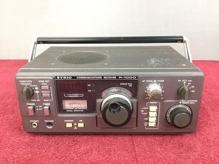 TRIO R-1000 通信型受信機◇現状品_画像1