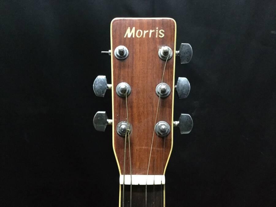 Morris モーリス MD-507 アコースティックギター シリアルNo.10168016 サンバースト系 ハードケース付き★現状品_画像2