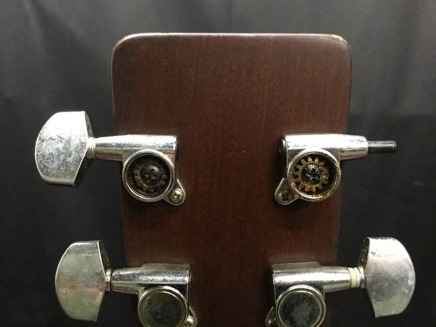 Morris モーリス MD-507 アコースティックギター シリアルNo.10168016 サンバースト系 ハードケース付き★現状品_画像6