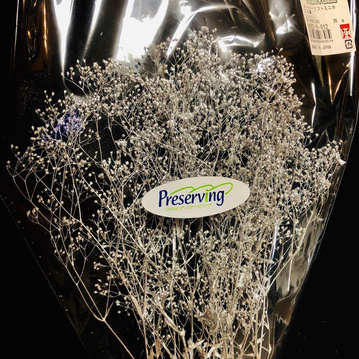 かすみ草 大地農園 プリザーブドフラワー ハーバリウム花材