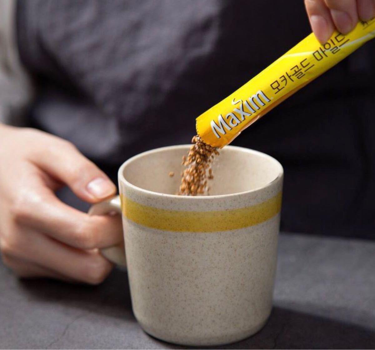 韓国 Maxim (マキシム) コーヒーミックス モカゴールド20本 スティックコーヒー インスタントコーヒー