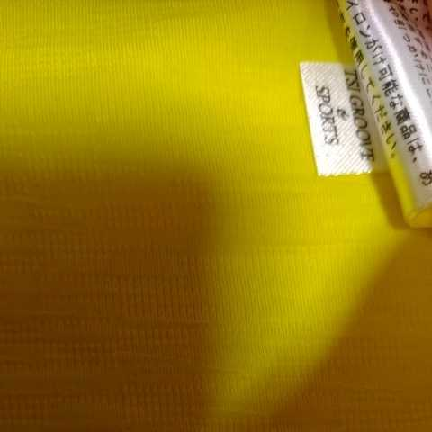 新品正規品 マスターバニー パーリーゲイツ サイズ3 2021モデルの最新作 高機能4wayストレッチ ハイネックシャツ イエロー 送料無料_画像10