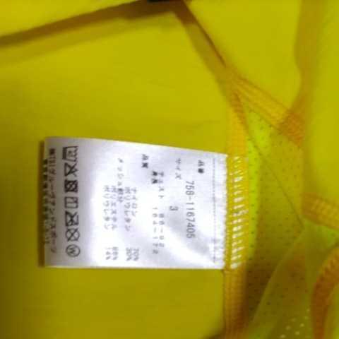 新品正規品 マスターバニー パーリーゲイツ サイズ3 2021モデルの最新作 高機能4wayストレッチ ハイネックシャツ イエロー 送料無料_画像9