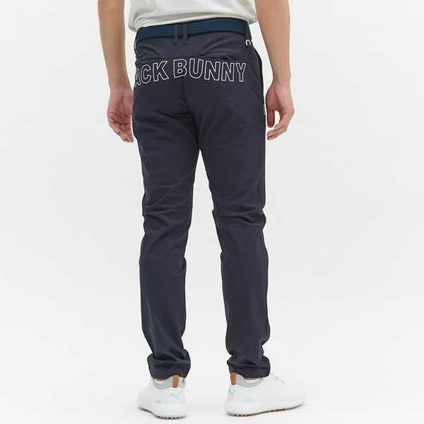 新品正規品 ジャックバニー パーリーゲイツ サイズ6 2021モデルの最新作 ストレッチ ツイル パンツ ネイビー バックロゴ 送料無料_画像6
