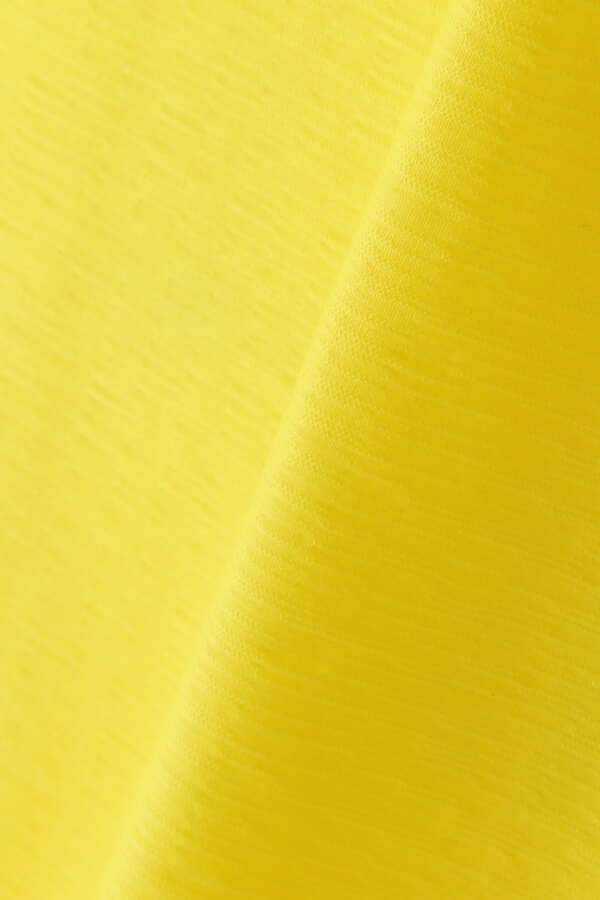 新品正規品 マスターバニー パーリーゲイツ サイズ3 2021モデルの最新作 高機能4wayストレッチ ハイネックシャツ イエロー 送料無料_画像6