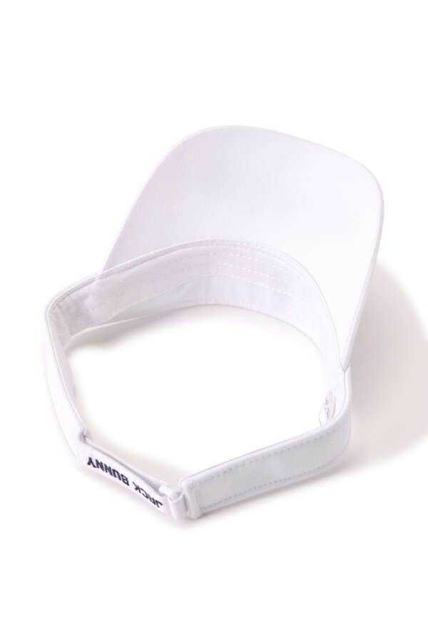 新品正規品 ジャックバニー パーリーゲイツ 21夏モデルの最新作 サンバイザー ホワイト 送料220円_画像6
