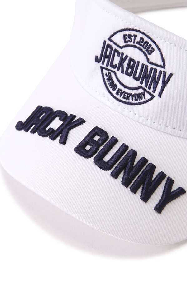 新品正規品 ジャックバニー パーリーゲイツ 21夏モデルの最新作 サンバイザー ホワイト 送料220円_画像5