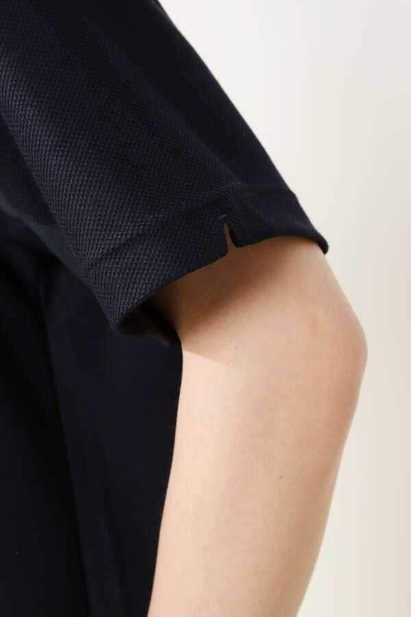 新品正規品 マスターバニー パーリーゲイツ サイズ5 2021モデルの最新作 バックロゴ ハニカム鹿の子 高機能 ブラック 送料無料_画像6