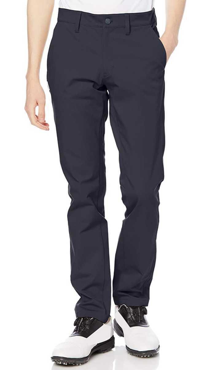 新品正規品 ジャックバニー パーリーゲイツ サイズ6 2021モデルの最新作 ストレッチ ツイル パンツ ネイビー バックロゴ 送料無料_画像2