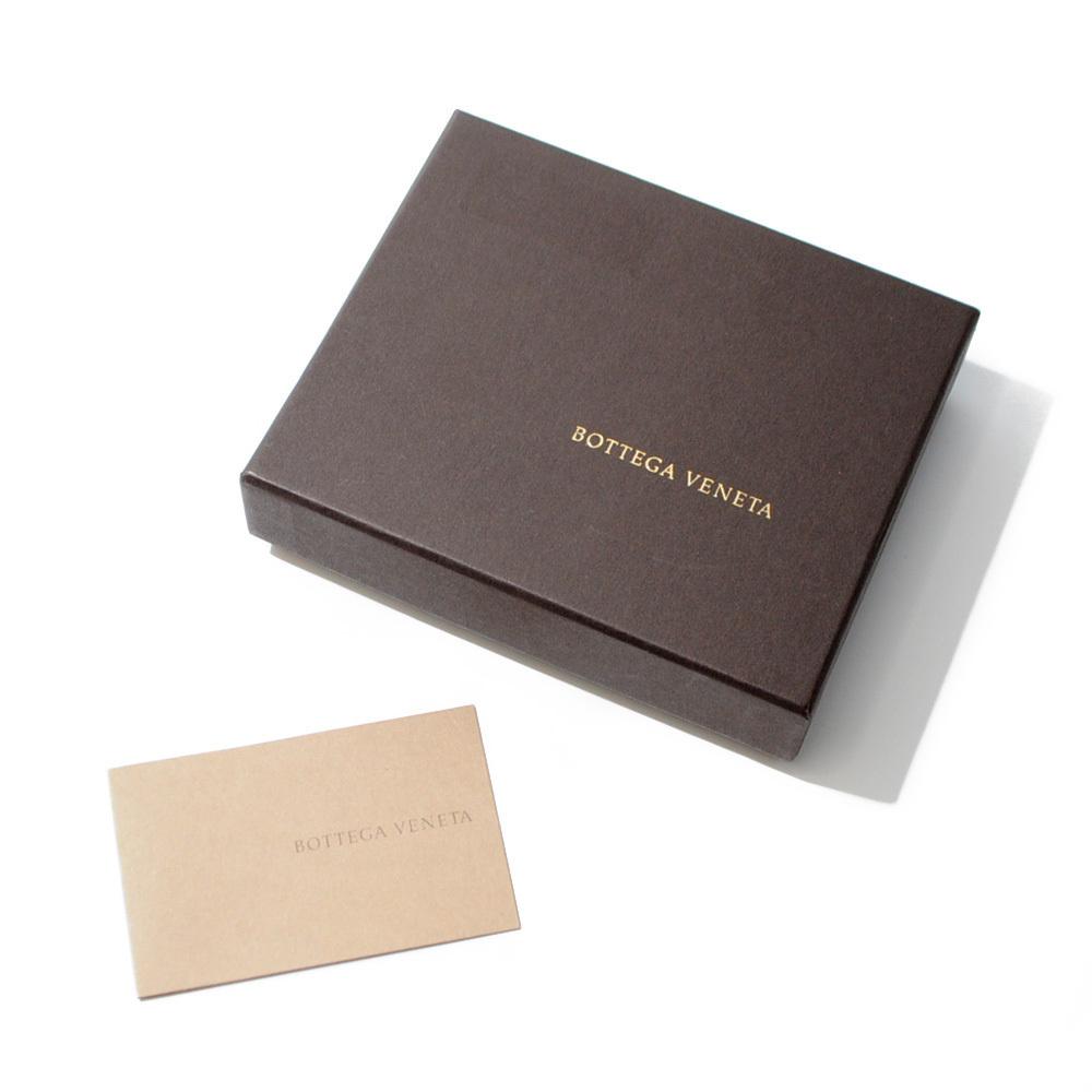 ボッテガ・ヴェネタ カードケース 名刺入れ イントレチャート ブラウン 茶色 BOTTEGA VENETA CARD CASE BROWN B00050786C_画像10
