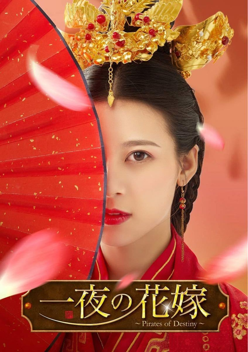 中国ドラマ 一夜の花嫁 Pirates of Destiny DVD全巻 日本語字幕あり ブルーレイもあります。