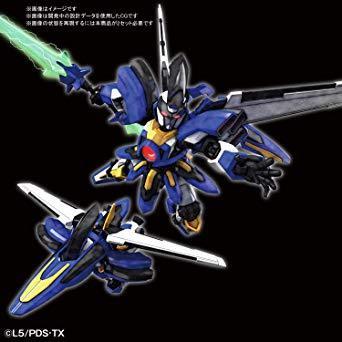 LBX ダンボール戦機 ハイパーファンクション オーディーン 1/1スケール 色分け済みプラモデル_画像2
