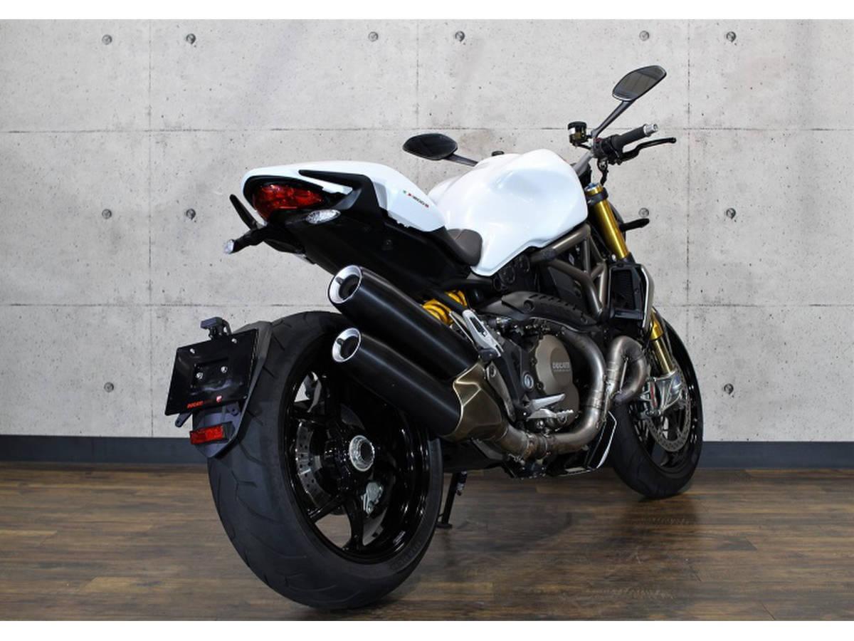 「配送キャンペーン!ドゥカティモンスター1200S 距離:9,716km 前後オーリンズサス装備モデル「S」Ducati monster」の画像2