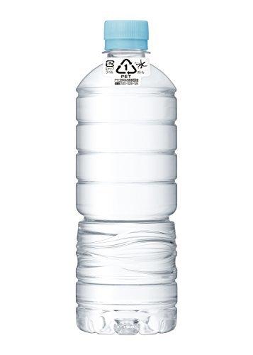 ◇即決◇ YS600ml×24本(ラベルレス) アサヒ飲料H7-LBおいしい水 天然水 ラベルレスボトル PET600ml24本_画像1