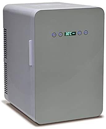 ホワイト 24L 冷温庫 24L 保冷庫 -9℃~60℃ ミニ冷蔵庫 温度調節可能 温度表示 保冷ボックス 小型冷蔵庫 日本製ダ_画像1