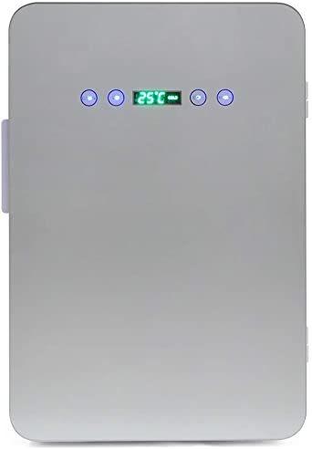 ホワイト 24L 冷温庫 24L 保冷庫 -9℃~60℃ ミニ冷蔵庫 温度調節可能 温度表示 保冷ボックス 小型冷蔵庫 日本製ダ_画像3