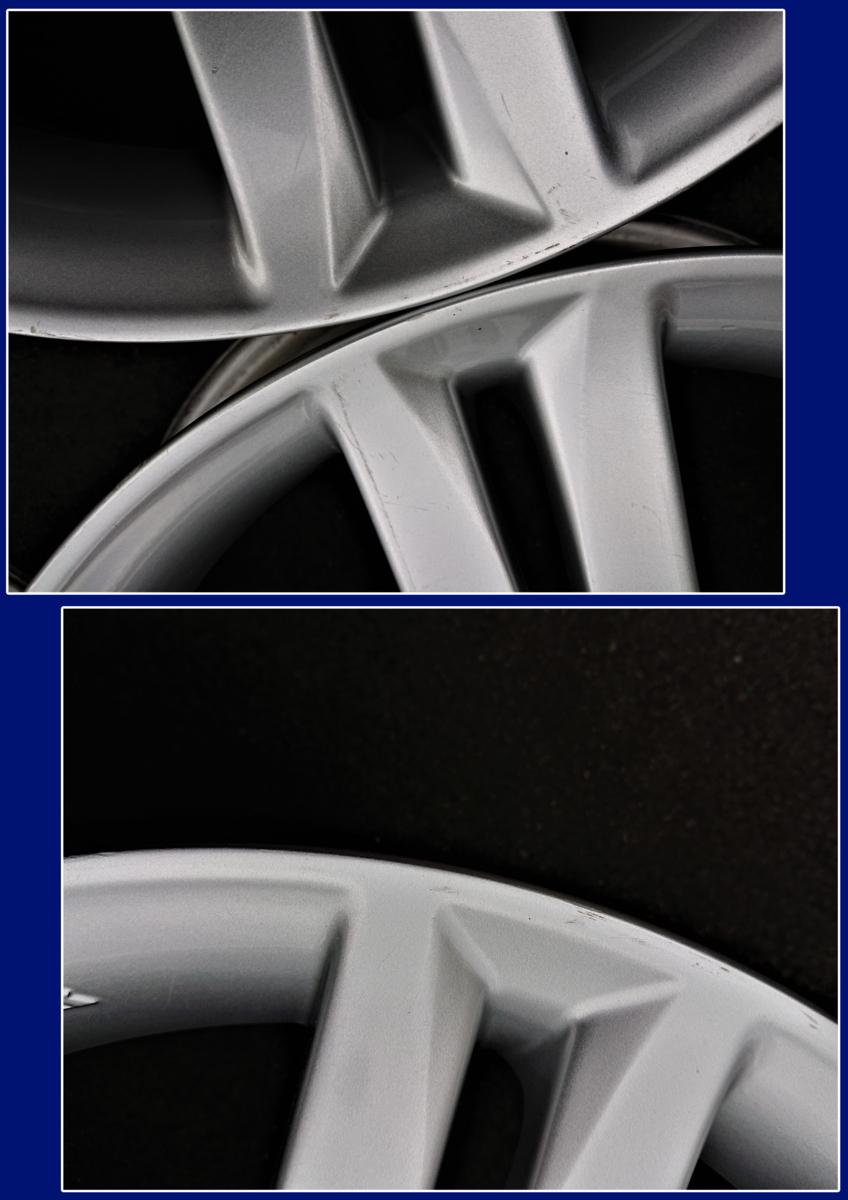 【ダイハツ】タント[純正] アルミホイール ☆4.5J×15インチ +45 PCD100-4穴☆4本★DAIHATSUA☆彡若槻店_傷の状態①